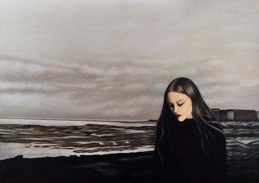 Shadows 3, 2019, 120/170 cm, oil on canvas