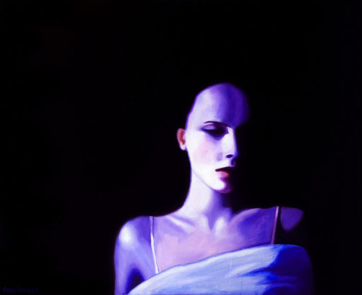 Private darkness 2, 2009, 110/90 cm, oil on canvas