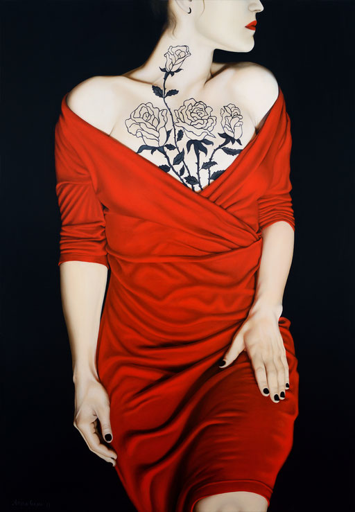 Lilith 7, 2017, 160/110 cm, oil on canvas