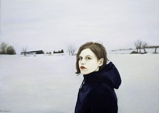White 1, 2012, 100/140 cm, oil on canvas