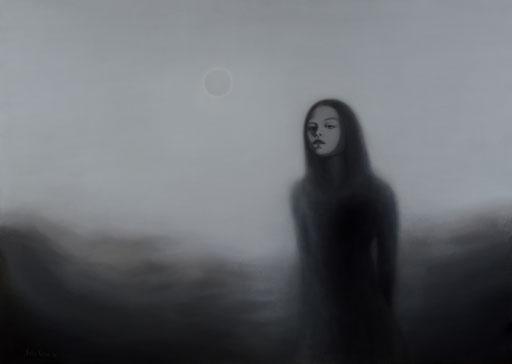 Shadows 6, 2020, 120/170 cm, oil on canvas