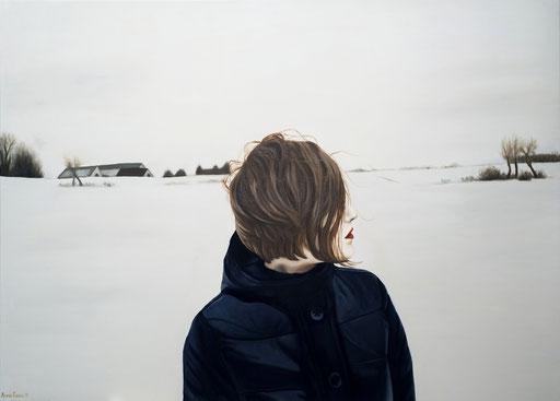 White 2, 2012, 100/140 cm, oil on canvas