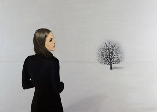 Shadows 10, 2021, 120/170 cm, oil on canvas