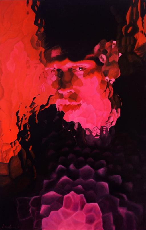 Master 1, 2014, 150/100 cm, oil on canvas