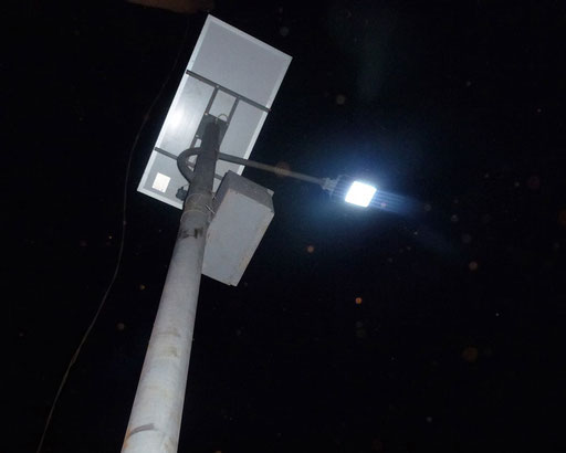 5 lampadaires classiques 30 W et…