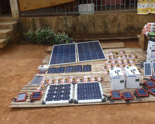 Electrification 15 Villages CE-Est – Communauté d'Assok.