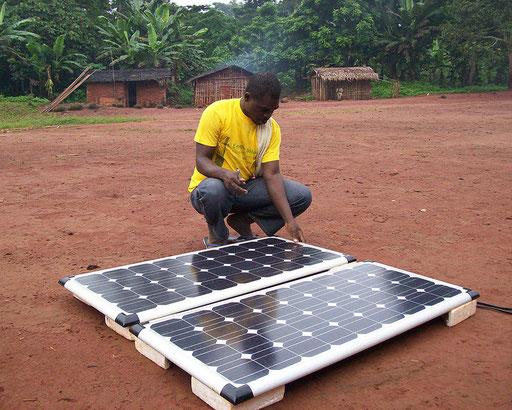 Elektrifizierungsprojekt 15 Dörfer Zentrum-Osten – Dorf Missoume