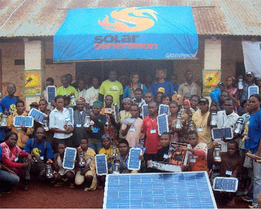 Electrification 15 Villages CE-Est – Avril 2010 à Janvier 2014, Bailleur: Greenpeace