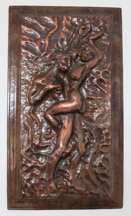 Titel: Liebesspiel, Maße: 70,5x40 cm, Jahr: 1995