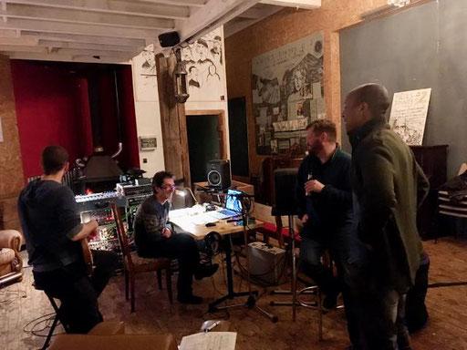 Ady&The Hop Pickers - Enregistrement du prochain album