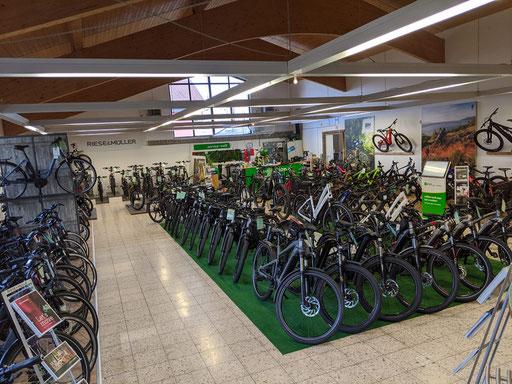 Riese & Müller e-Bikes in der Region um Ravensburg