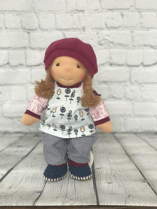 LILO Puppe von der Puppenfee mit Wollwalk Mütze