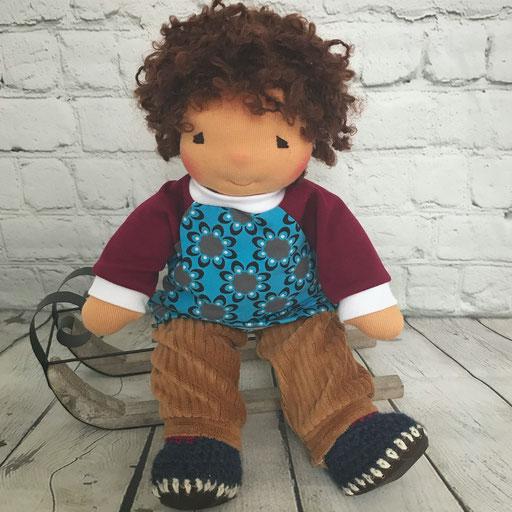 LiLo Puppe CHARLIE Haarfarbe nussbraun