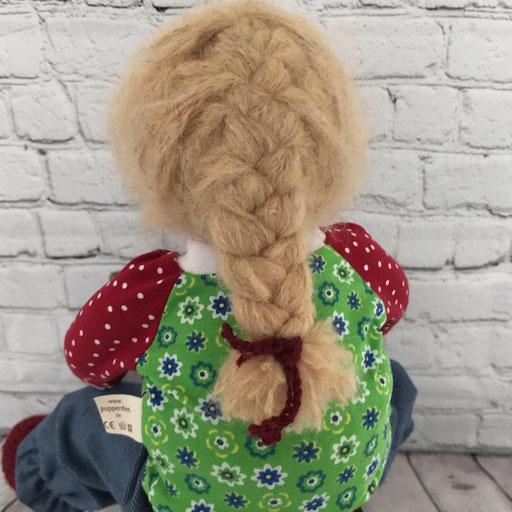 Puppenhaare - ein Zopf