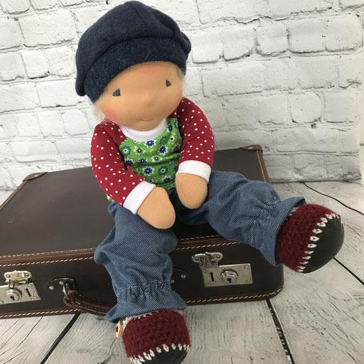 Puppenmädchen (42 cm) reisefertig