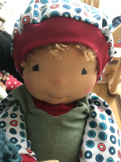 Puppengesicht SCHLUMMERKIND / Puppenbaby