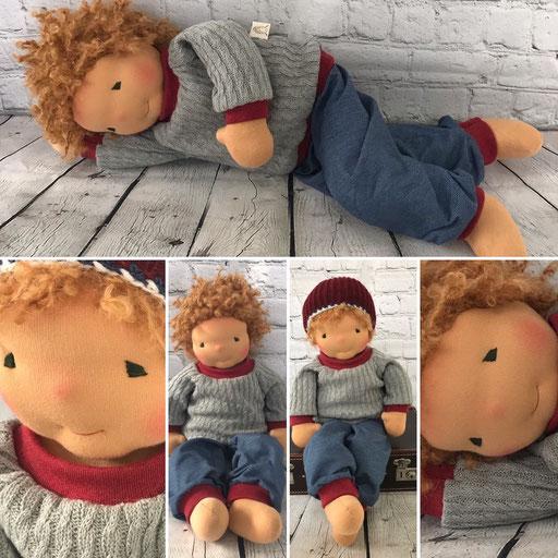 ganz grosse Puppe 52 cm für PEKIP Kurse oder Wickelkurse geeignet