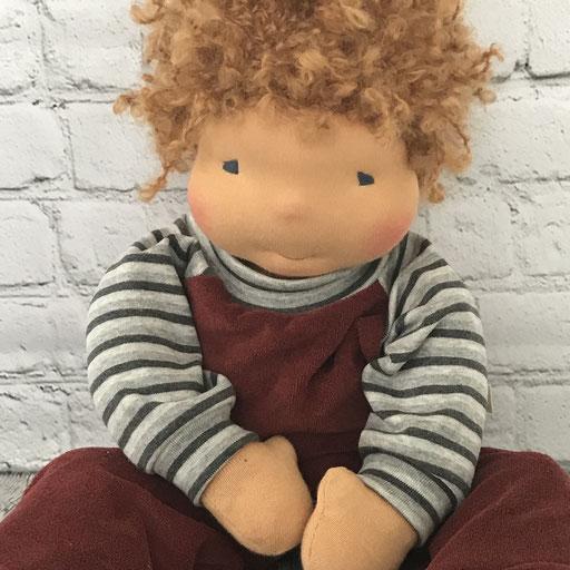 Lockenkopf zum Spielen (Puppengrösse 52 cm)