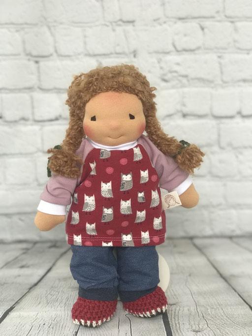 LILO-Puppe mit Zöpfen, Haarfarbe butterblond