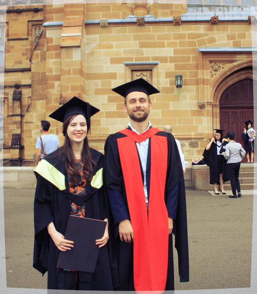 Olivia's graduation (First Class Honours)