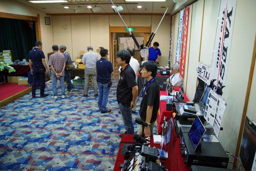 無線機器メーカー・ショップ 展示ブース
