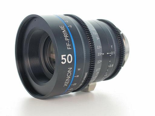 Puhlmann Cine - Schneider Xenon FF 50mm T2.1 PL