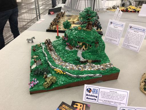 LEGO Hobbit Höhle