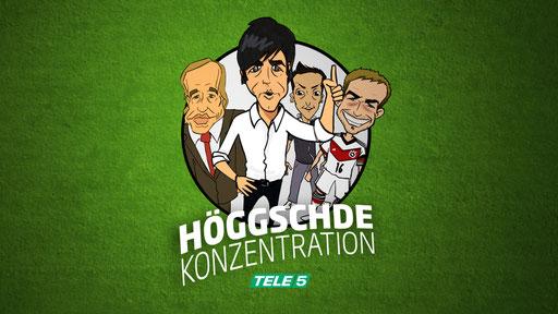 Tele5 Höggschde Konzentration Trickserie