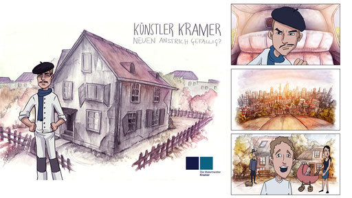 Malermeister Kramer Trickfilm