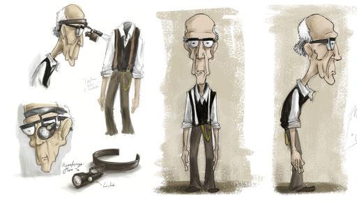 Diplomfilm Characterdesign