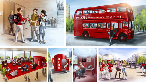 Agentur: we. | Kunde: Nescafe
