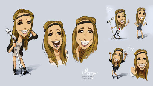 """""""Marry"""" Characterdesign"""