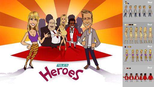 Tele5 Heroes Trickserie