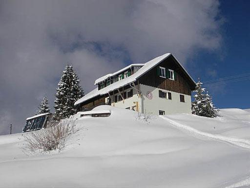 ESV Hütte im Winter