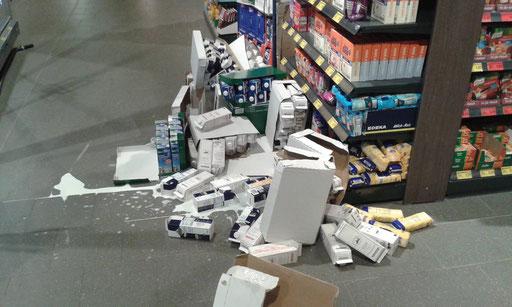 Unfälle passieren!