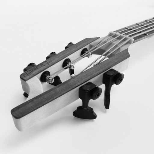 A slotted headstock design on a modern bass 2020 - you should play this bass of the week