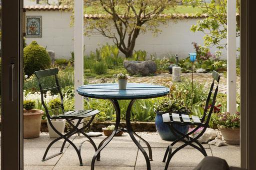 Neuanlage Sitzplatz - Durrer Gartenbau AG Herzogenbuchsee