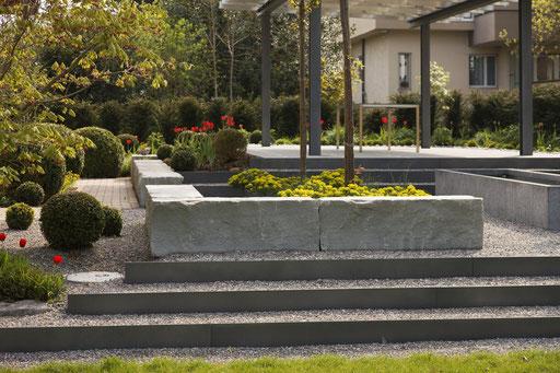 Neuanlage Stufen - Durrer Gartenbau AG Herzogenbuchsee