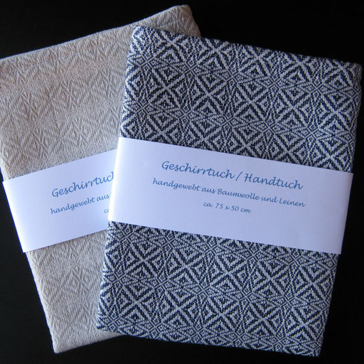 Handtücher aus Baumwolle und Leinen