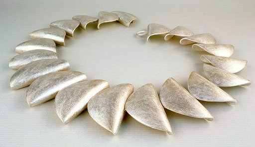 Shell necklace, sterling