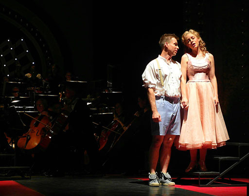 "Kunigunde in ""Candide"", Oper Leipzig 2019"