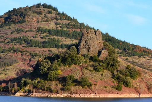 neck basaltique de la Roque