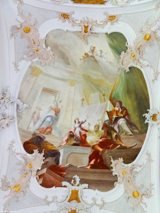 3. Maria sucht nach Jesus im Tempel