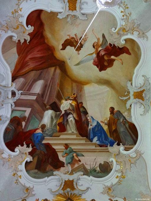 1.2 Ankündigung der Leiden Mariens durch Simeon