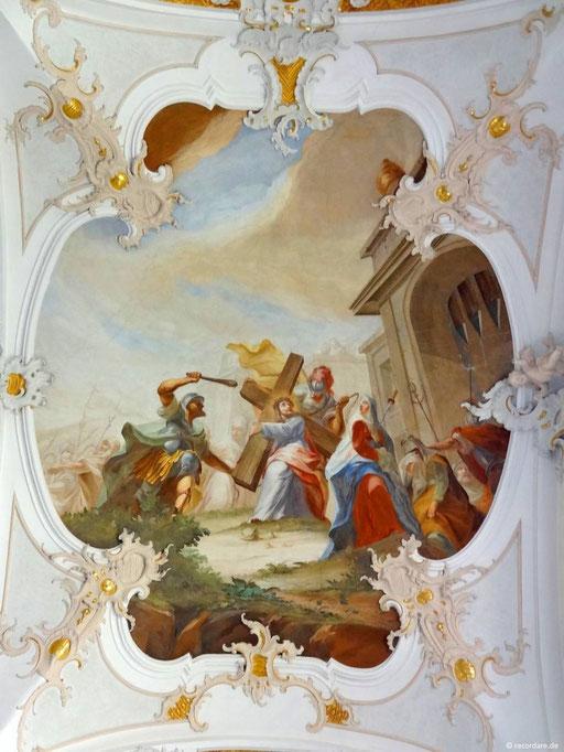 4. Maria begegnet Jesus auf dem Kreuzweg