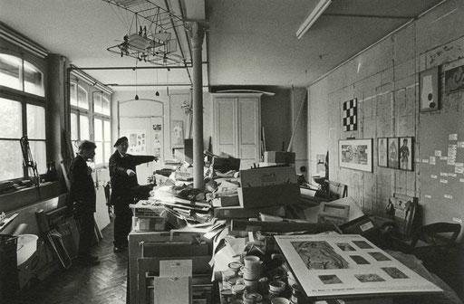 Atelier Roman Candio. Fotografie Franz Gloor
