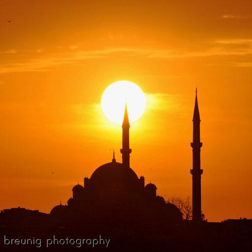 fatih camii @ sunset II