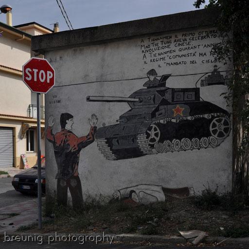 orgosolo's famous (political) graffitis VI