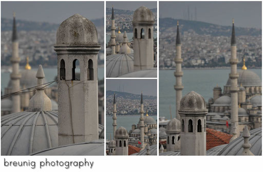 watching golden horn and karaköy from süleyman camii