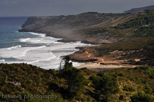 coast hike at parc naturel del llevant IV